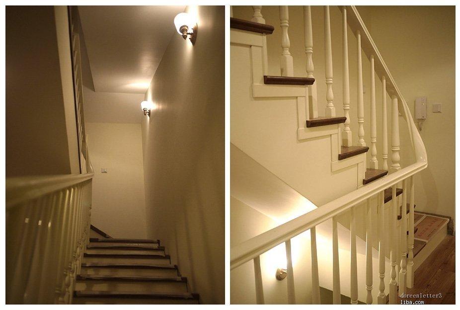 别墅-300㎡-其它装修效果图; 品家楼梯安装现场,我家选择的是榉木楼梯