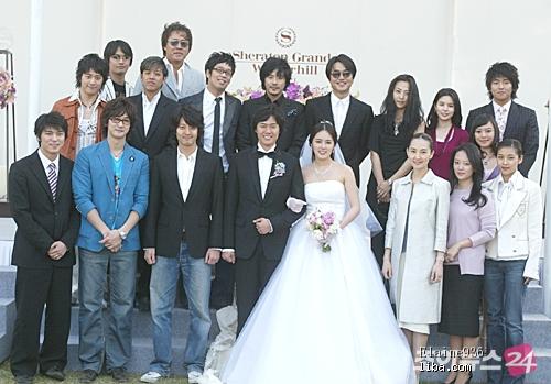 韩国明星结婚照_韩国明星们的时尚婚纱照_韩国站_服装网_蝶讯