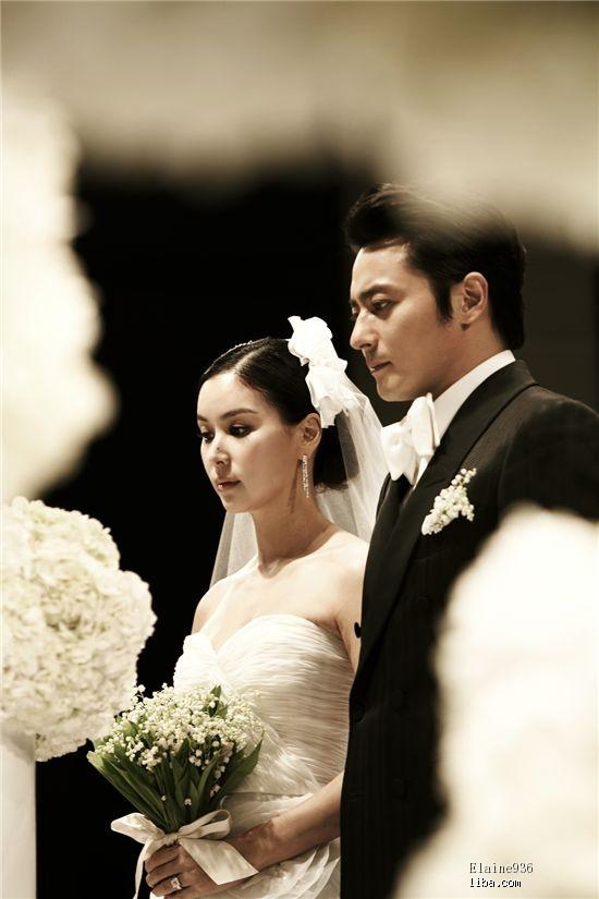 韩国明星结婚照_欣赏一下韩国明星结婚照