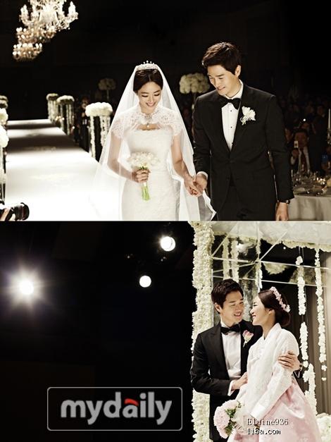 金孝珍/陆续更新各大韩国明星结婚照开始更新全智贤婚礼 194k 470*627