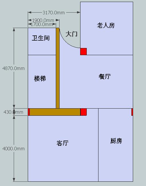 农村商铺房屋设计图展示图片