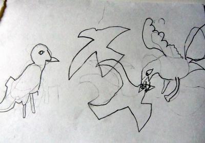 幼儿园叠衣服 简笔画步骤