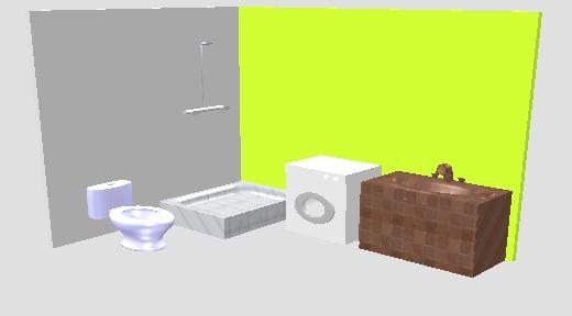 洗衣机放卫生间排水问题