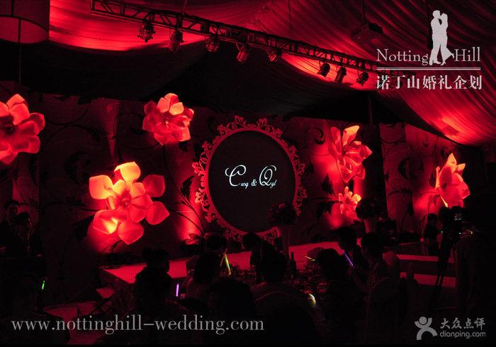 红色欧式婚礼布置