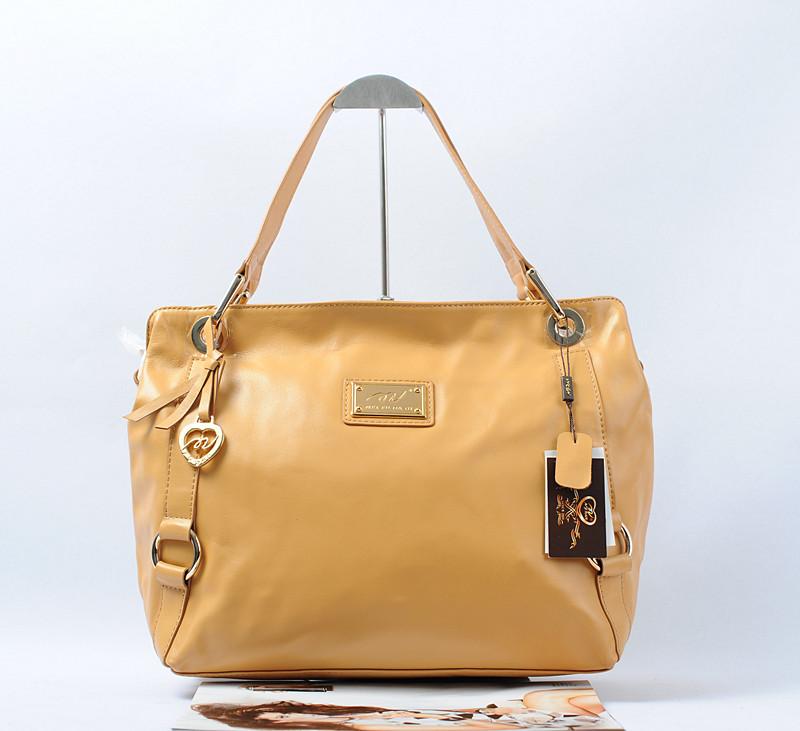 杏色丝绸柔滑质感纳帕工艺包包工分:上海