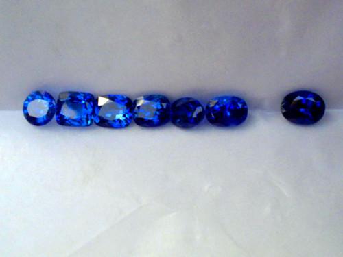 红蓝宝石的分子结构式相同的