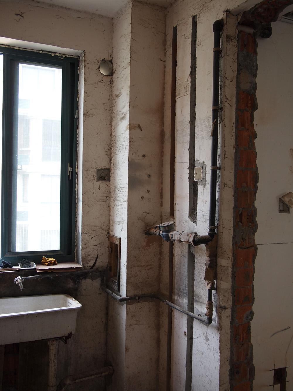 欧式卫浴间贴砖效果图