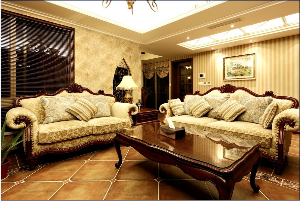 客厅装修效果图;