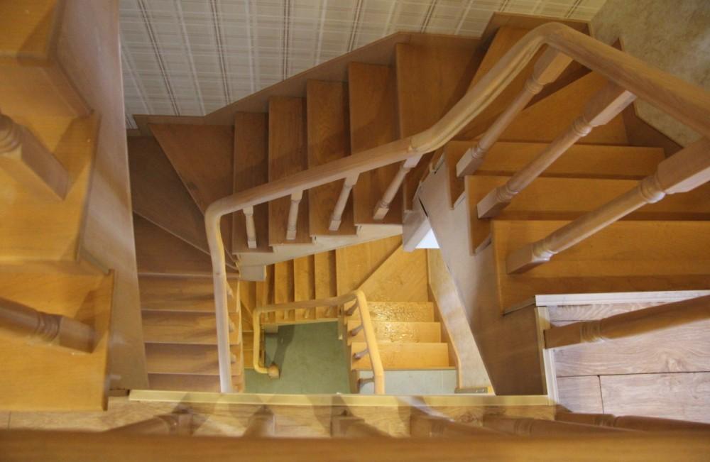 室外转角楼梯 结构
