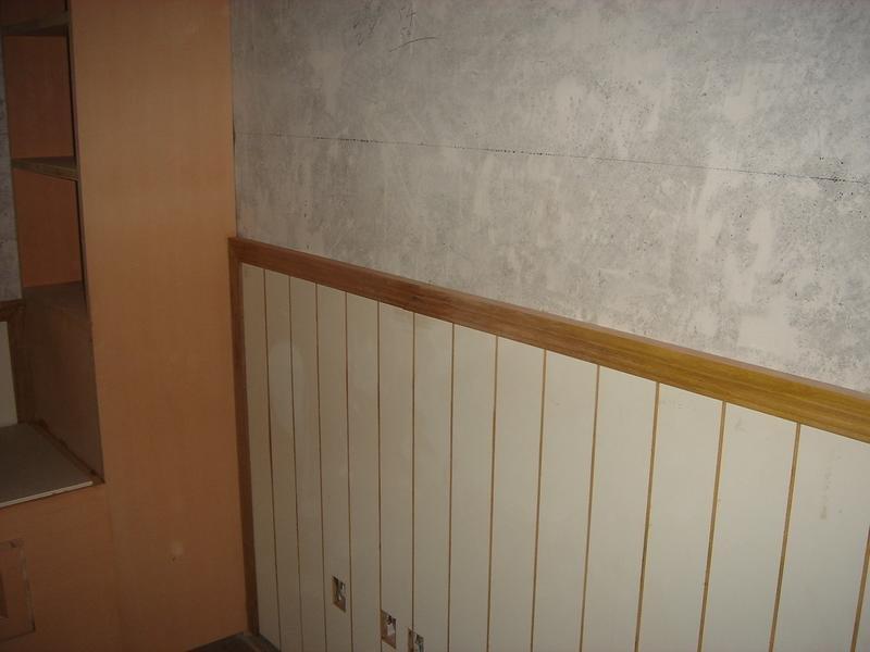 有谁家做了白色护墙板吗?就是有点美式乡村风