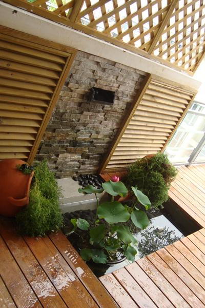 露台小花园 装修日记 篱笆网
