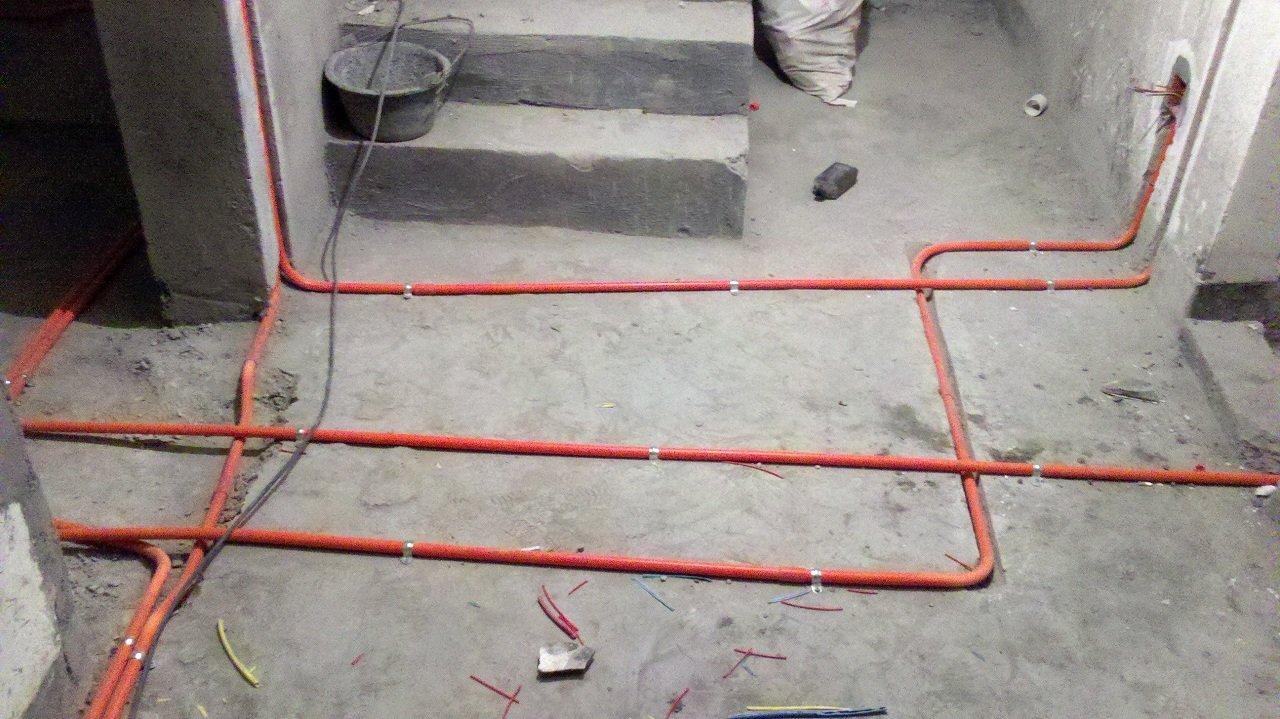 装修吊顶布线图