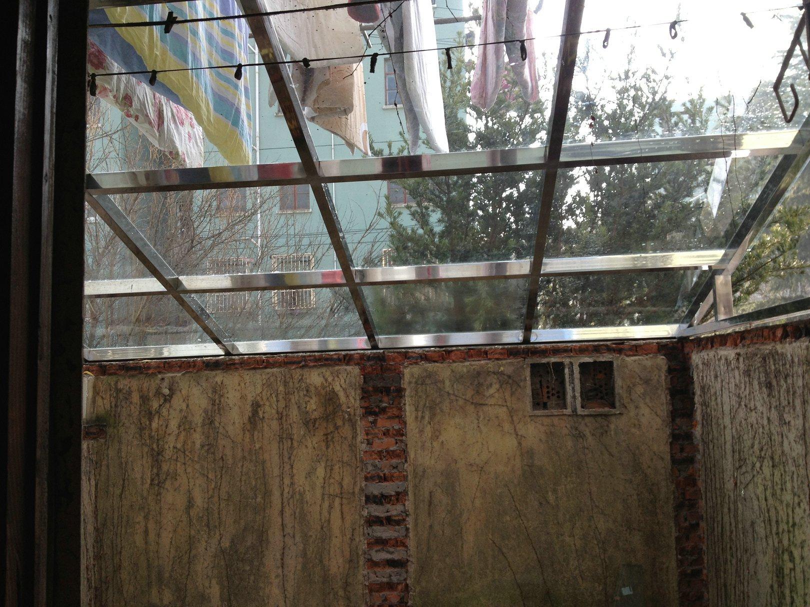 2013年1月19日敲墻 40平帶天井1室1廳 裝修日記 籬笆