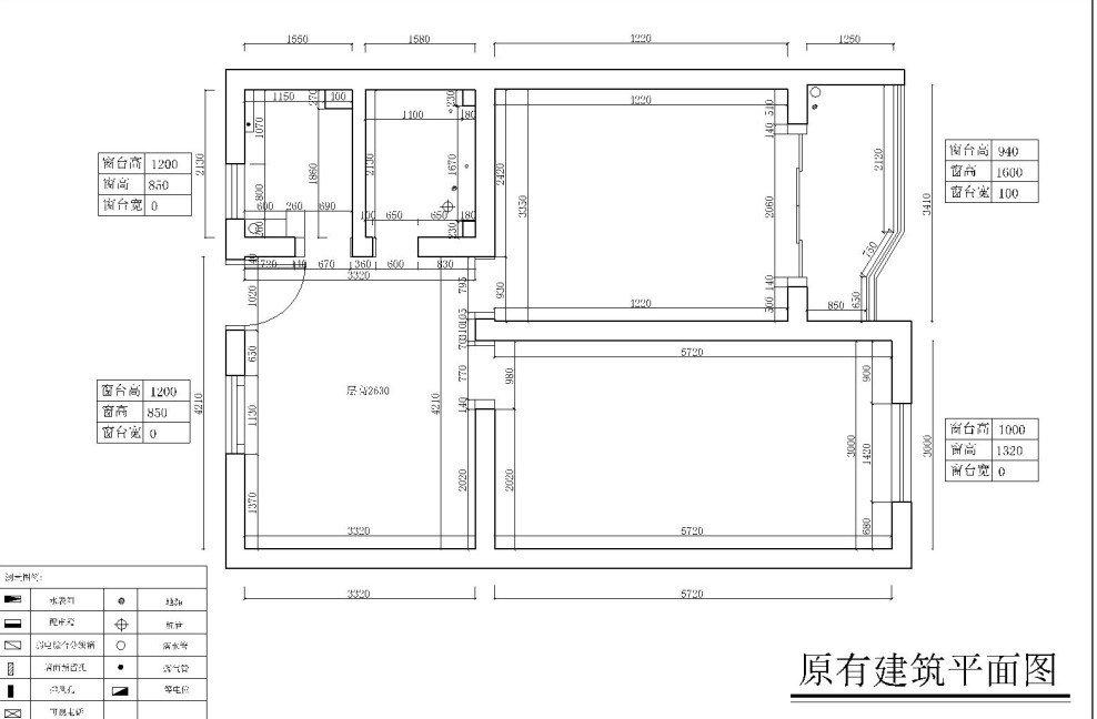 两间多房平面设计图分享展示