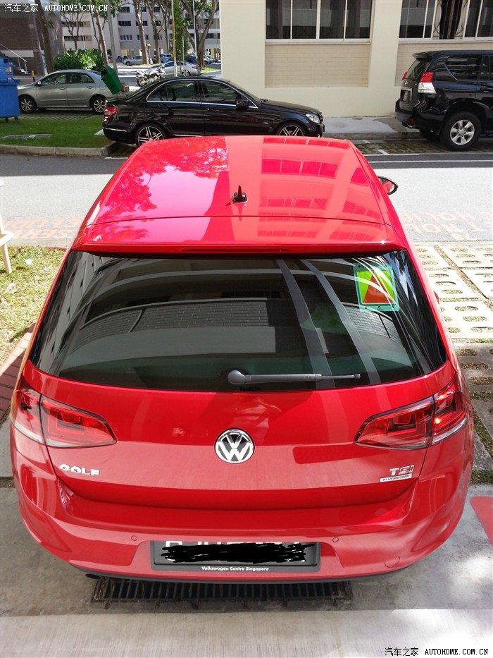 高尔夫7提车作业 新加坡提车高清图片