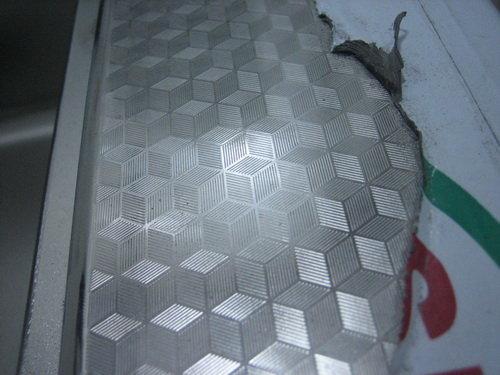 不锈钢,水立方花纹