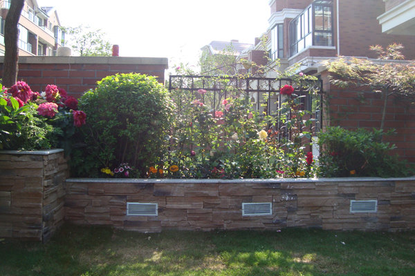欧式私家小花园 装修日记