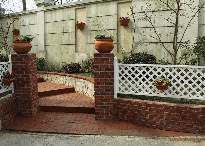 自建房楼顶砖围栏设计图展示