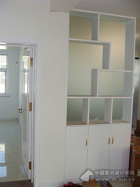 木工做的鞋柜屏风装修效果图