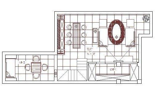 地下室平面布置图-菜鸟的欧式小别墅,边装修边做功课学习中,还好图片