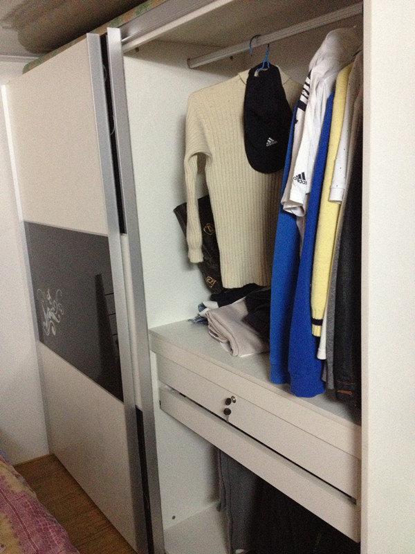 衣柜内部结构和样品不一样-5 14 更新后续 上海浦东 东明家具店 买出来