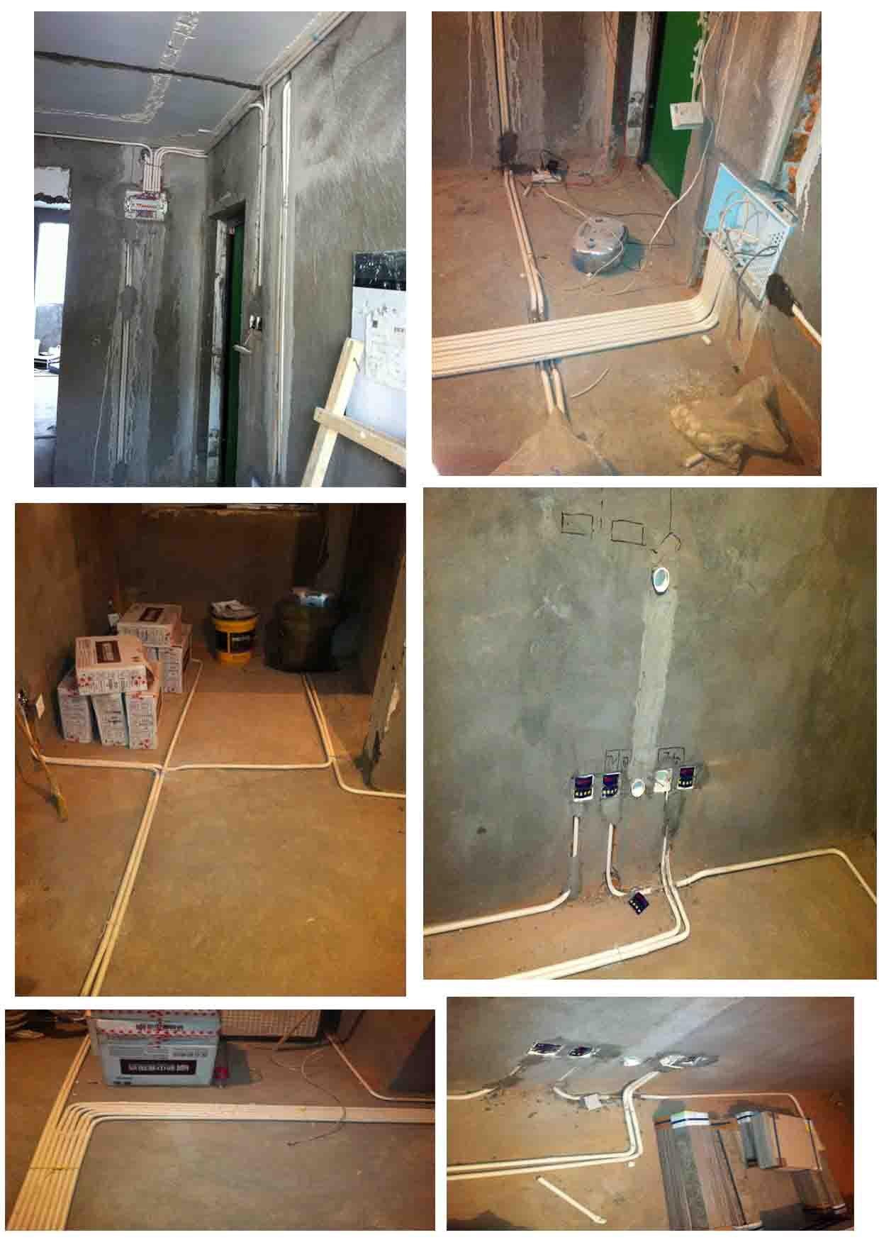 家庭装修电路排线图