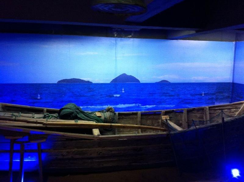 渔具发展史等颇具海洋文化特色的