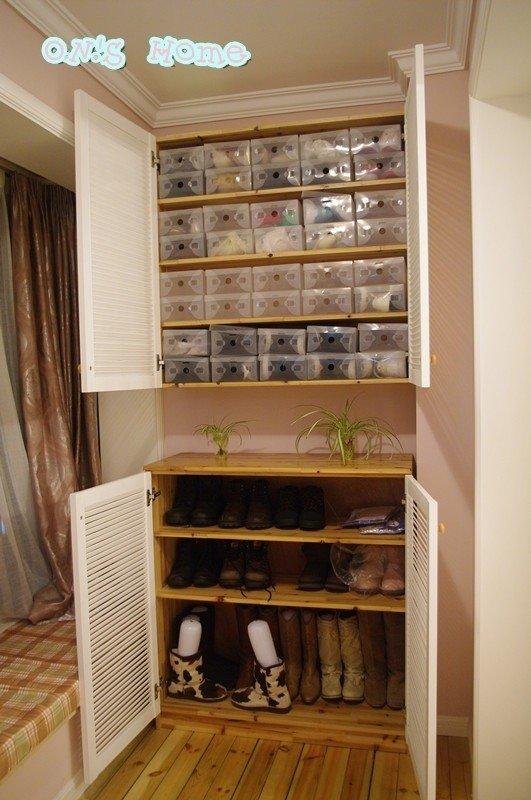塑料鞋柜组装步骤图
