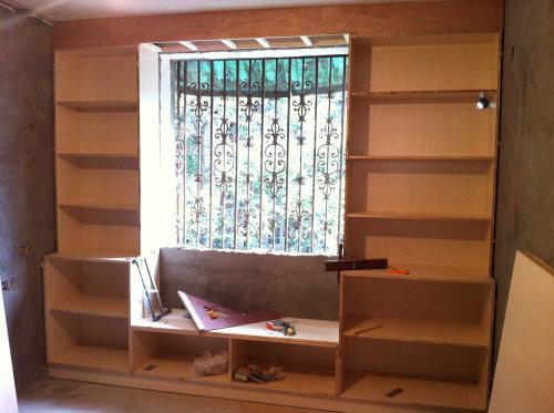 自制衣柜,书橱