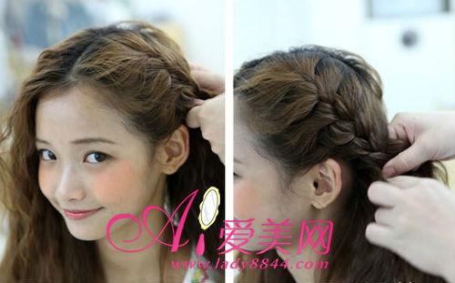 对发质么要求,不要太光滑就可以,发量多的mm扎起来更蓬松更好看!图片