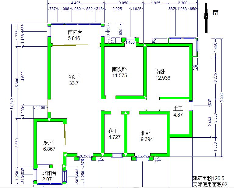 套房水电安装设计图分享展示