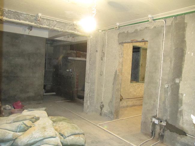 地下室装修 装修日记 篱笆网