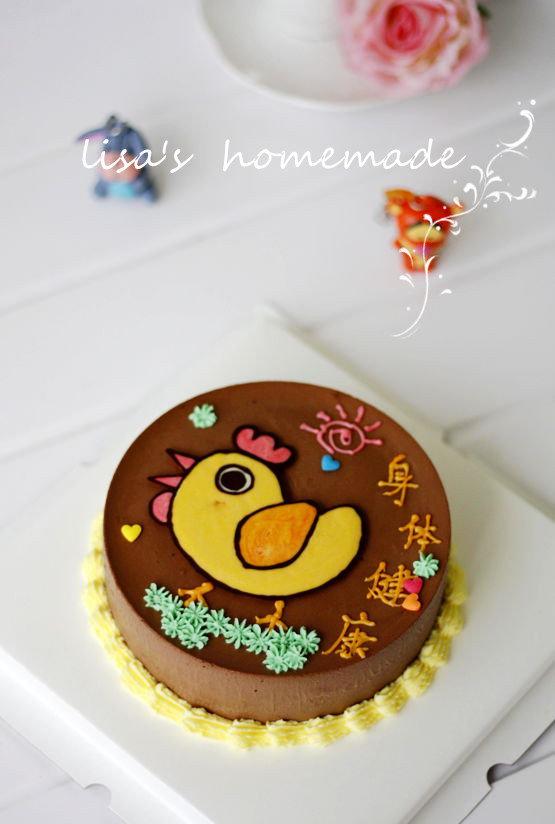 蛋糕纸盘手工制作图片小鸡