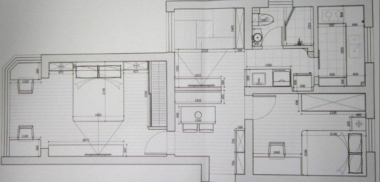 蹲便加马桶一个洗手间的设计图