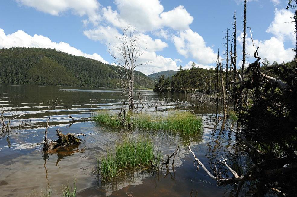 我觉得属都湖风景好,值得步行