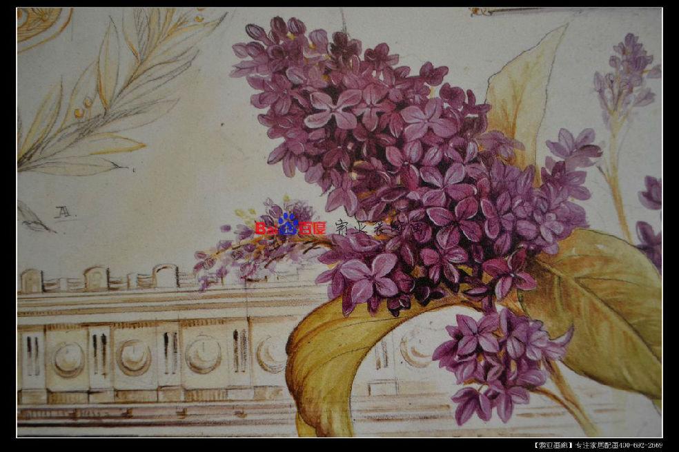欧式美式装饰画,手绘油画