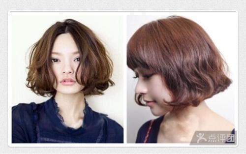 韩式水波纹短发到底能烫出来么图片