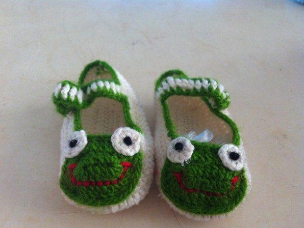 纯手工编织婴儿鞋~帽~接受定制~~支持淘宝交