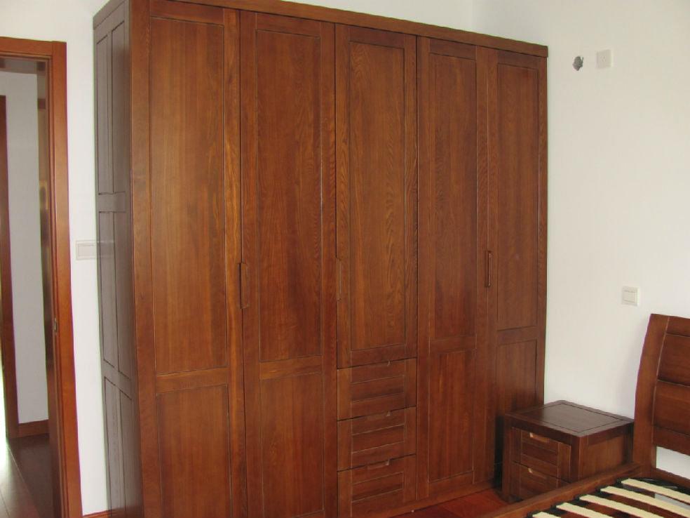第4楼   五门衣柜内部结构   五门大衣橱   第2楼