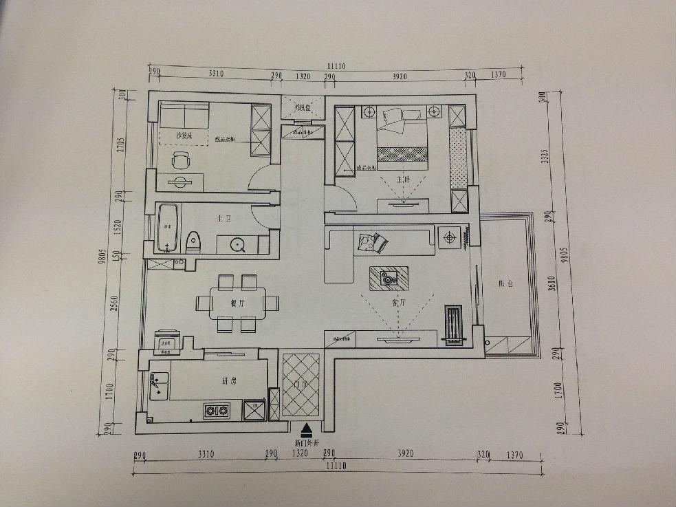 住房格局设计图