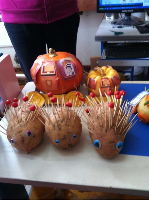 幼儿园要做秋季农作物手工,各位麻麻,有好的建议快扔过来.