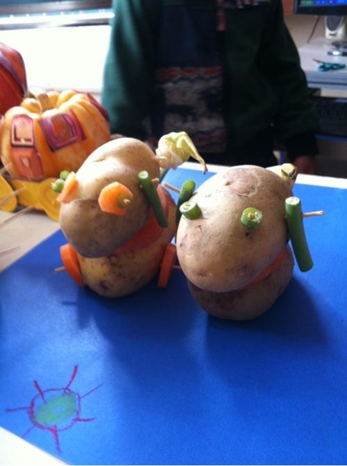幼儿园要做秋季农作物手工