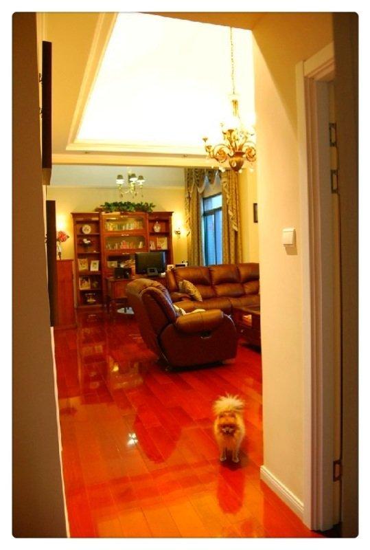 这样的地板颜色家具配什么颜色呢