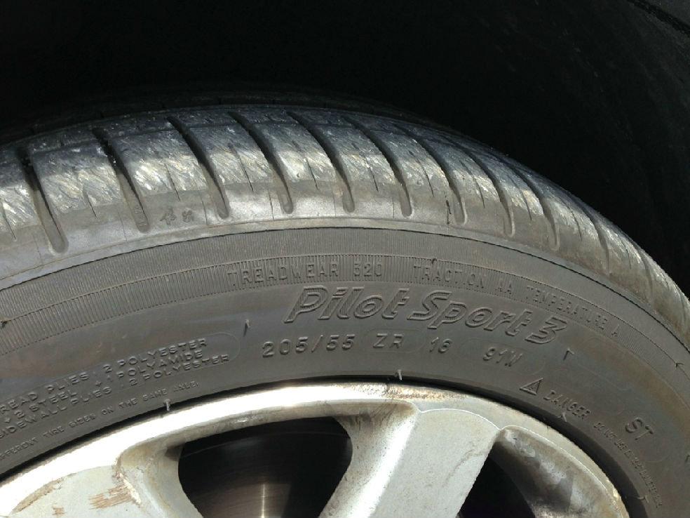米其林ps3轮胎