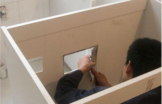 打造黑白奢华低调风+橱柜现场开奖+最终整体北京v黑白视频直播安装图片