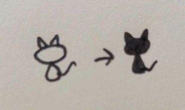 你画一些简单的花边简笔画