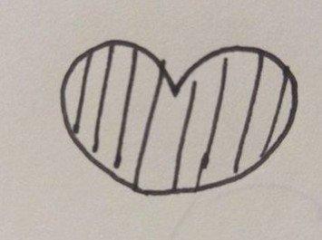 一些简单的花边简笔画