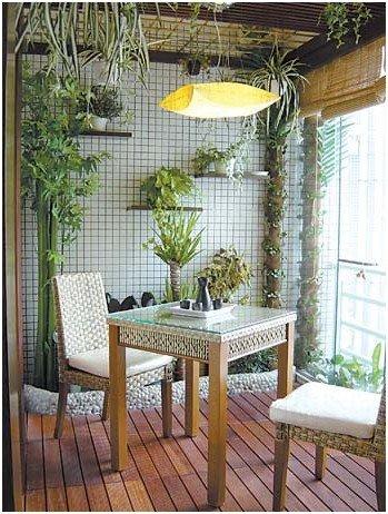 欧式风格的入户花园
