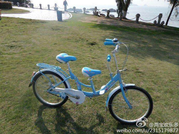 自行车沿环岛路闲逛啦