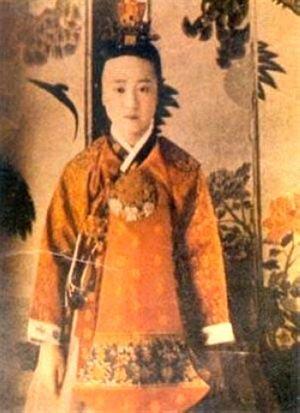 朝鲜王室照片